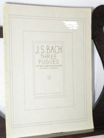 Bach J S - Three Fugues arr Thurston F J